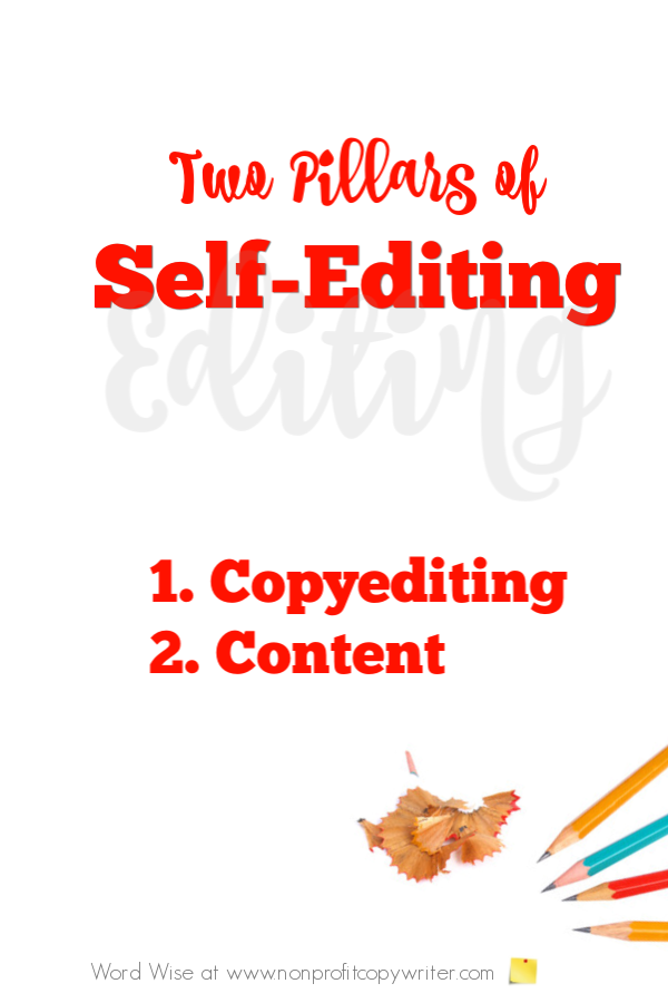 Self-editing made simple with Word Wise at Nonprofit Copywriter. #WritingTips #ContentWriting #FreelanceWriting