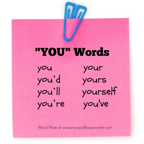 You Word family with Word Wise at Nonprofit Copywriter