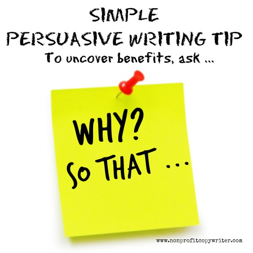 tips on writing a persuasive speech