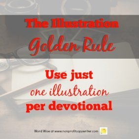 The Illustration Golden Rule with Word Wise at Nonprofit Copywriter