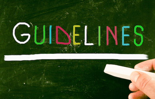 Writers guidelines tips from Nonprofit Copywriter