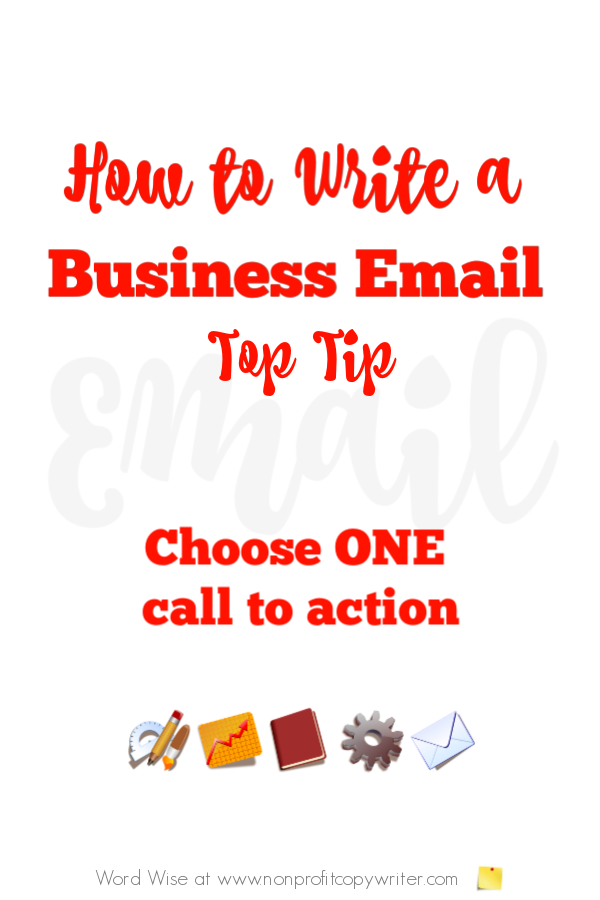 Business email writing tips to save time and save face with Word Wise at Nonprofit Copywriter #FreelanceWriting #ContentWriting #WritingTips