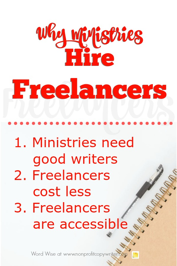 3 reasons ministries hire freelancers from Word Wise at Nonprofit Copywriter