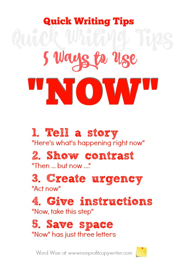 5 writing tips for using