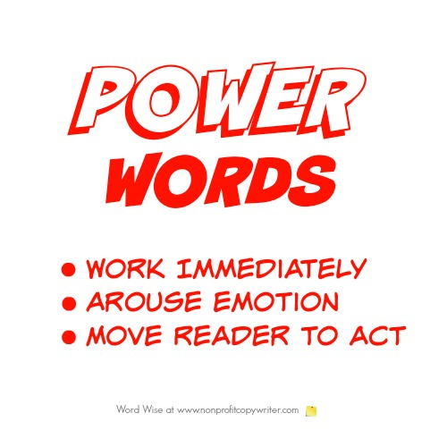 Power words with Word Wise at Nonprofit Copywriter
