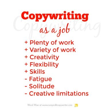 Copywriting as a job with Word Wise at Nonprofit Copywriter