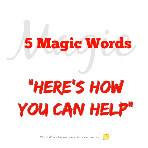 5 magic words:
