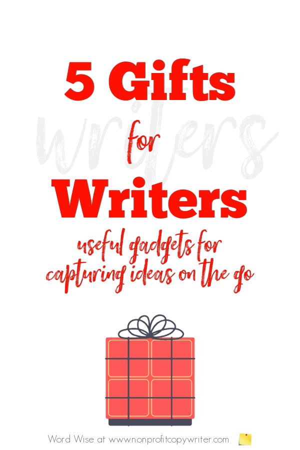 5 gifts for #writers with Word Wise at Nonprofit Copywriter #WritingTips