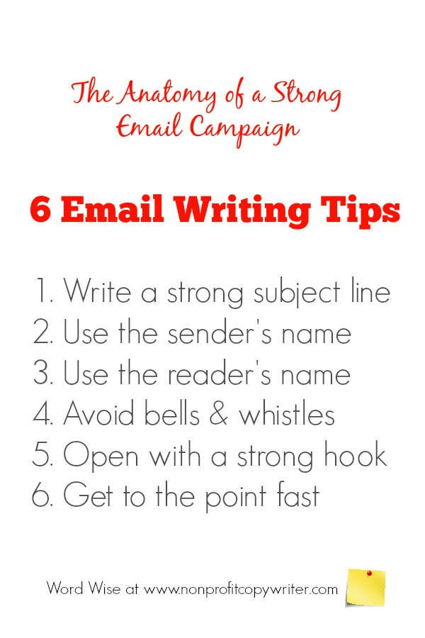 Copywriting Email The Anatomy Of A Strong Email Campaign