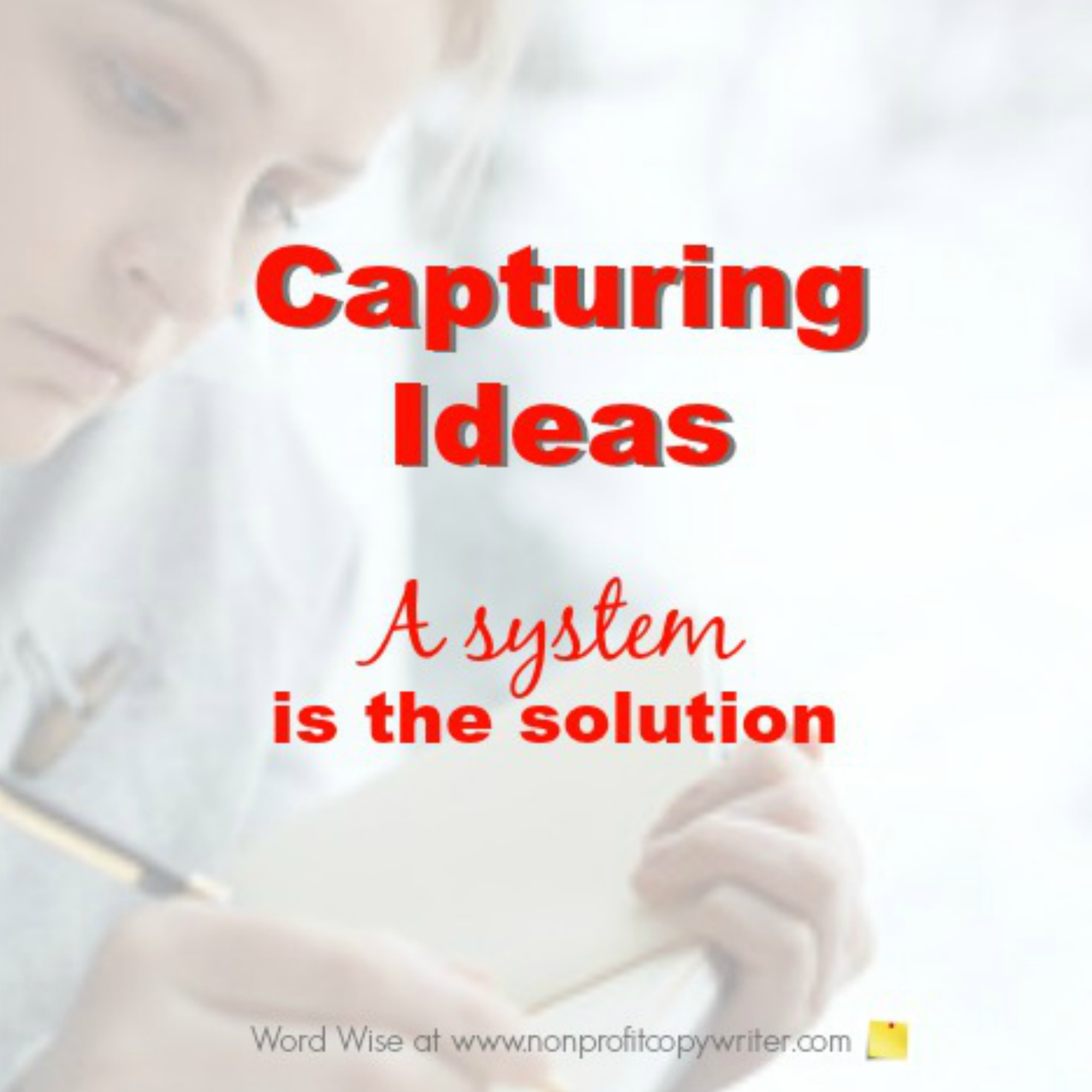 Capturing ideas with Word Wise at Nonprofit Copywriter