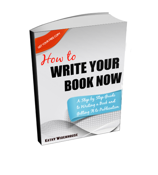 Free e-book: Write Your Book Now - a Step-By-Step Guide to Writing a BOok and Getting It to Publication