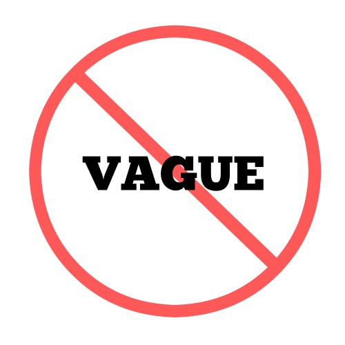 Making the Ask: don't be vague! With Word Wise at Nonprofit Copywriter