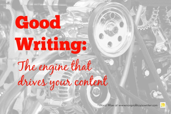 Content writing is essential with Word Wise at Nonprofit Copywriter
