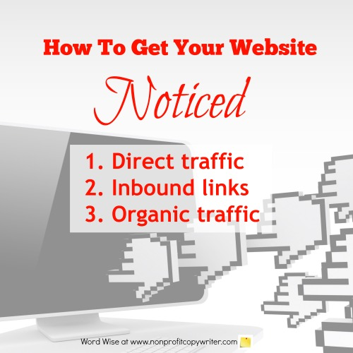 How to get your website noticed with Word Wise at Nonprofit Copywriter