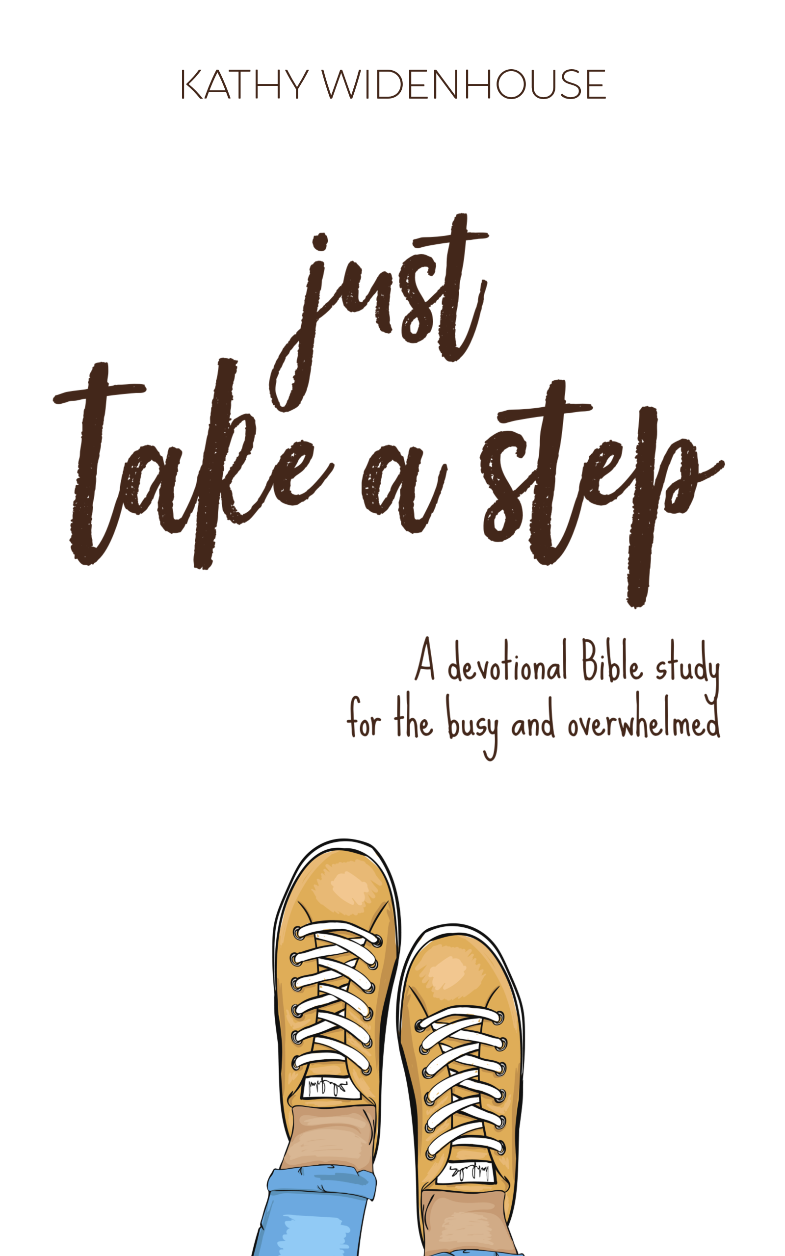 Just Take A Step: Devotional Bible study for the busy and overwhelmed at Word Wise at Nonprofit Copywriter #ChristianWriting #BibleStudies