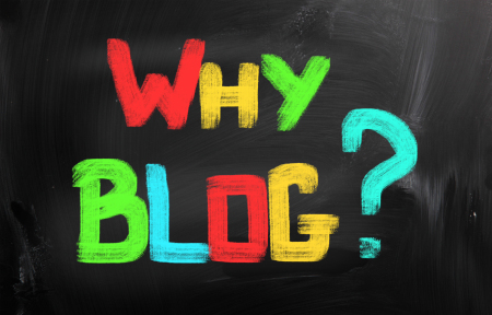 Why blog? 5 great reasons listed here from Nonprofit Copywriter