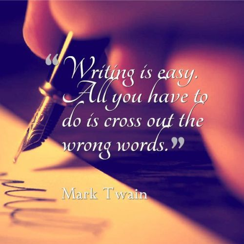 mark twain quotes writing Mark twain quotes find famous mark twain quotes compiled by phds and masters from stanford, harvard, berkeley.