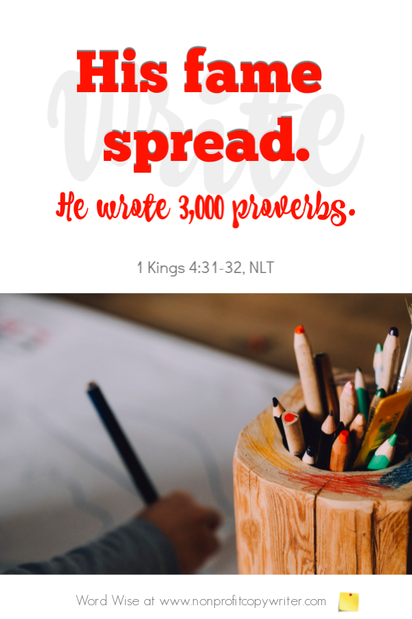 The Project Specialty: 3 Bible guys specialized in writing 3 different kinds of #ContentWriting projects. An online devotional from Word Wise for #FreelanceWriting #ChristianWriters