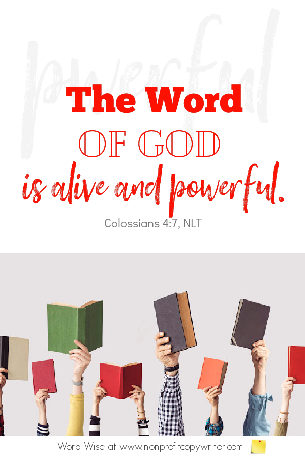 The Writers Guidelines: a #devotional for #writers based on Heb 4:12 with Word Wise at Nonprofit Copywriter #WritingTips #FreelanceWriting