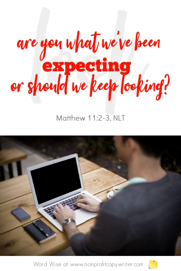 The Message: make it easy for prospects to contact you. #Devotional from Word Wise at Nonprofit Copywriter #FreelanceWriting #ChristianWritingResources