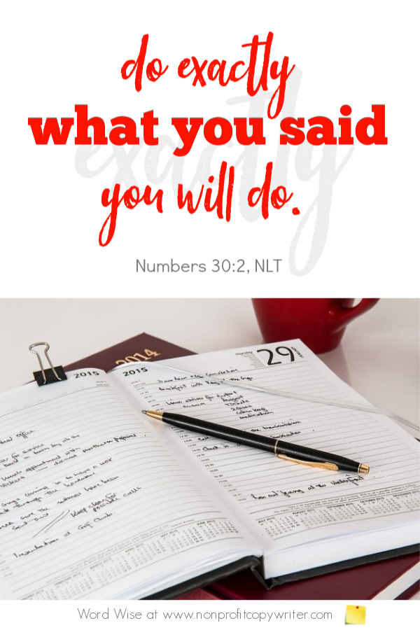 A writing schedule is key to your writing success. An online devotional for writers with Word Wise at Nonprofit Copywriter #FreelanceWriting #ChristianWriting