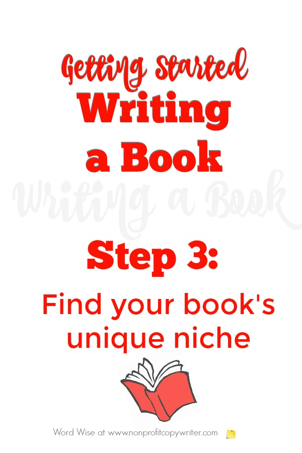 Getting started writing a book, Step 3 with Word Wise at Nonprofit Copywriter