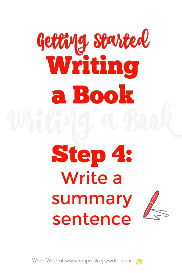 Getting started writing a book, Step 4 with Word Wise at Nonprofit Copywriter