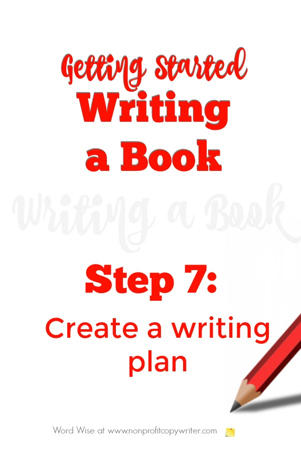 Getting started writing a book, Step 7 with Word Wise at Nonprofit Copywriter