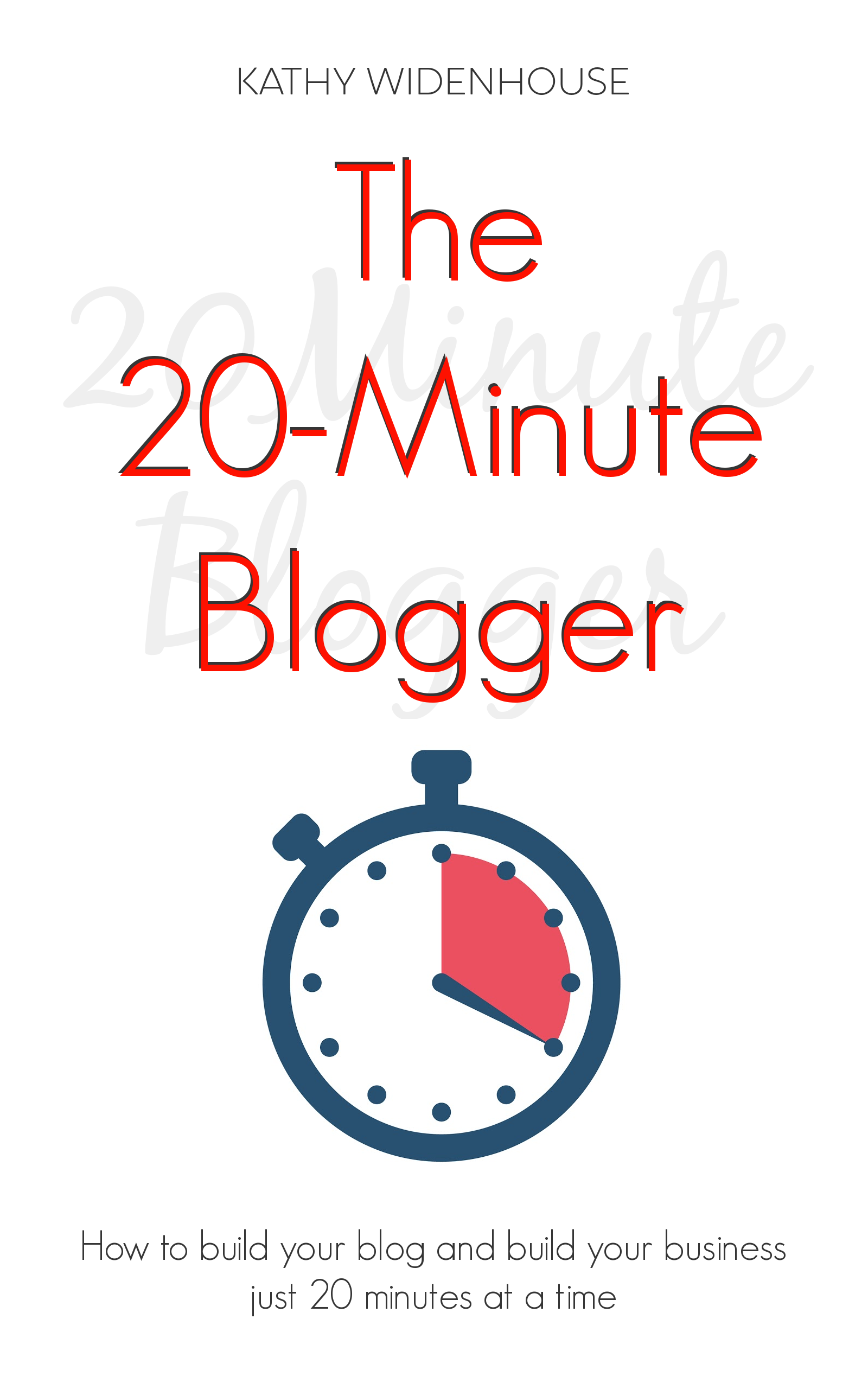 The 20-Minute Blogger: build your #blog just 20 minutes at a time with Word Wise at Nonprofit Copywriter #blogging #WritingTips