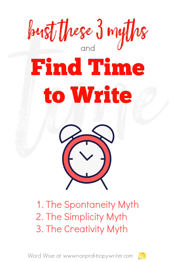 How to find time to #write with Word Wise at Nonprofit Copywriter #WritingTips #FreelanceWriting