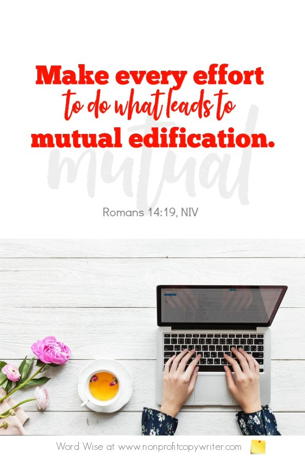 The LOI and writing grant proposals. An online #devotional for writers with Word Wise at Nonprofit Copywriter #ChristianWritingResources #nonprofits