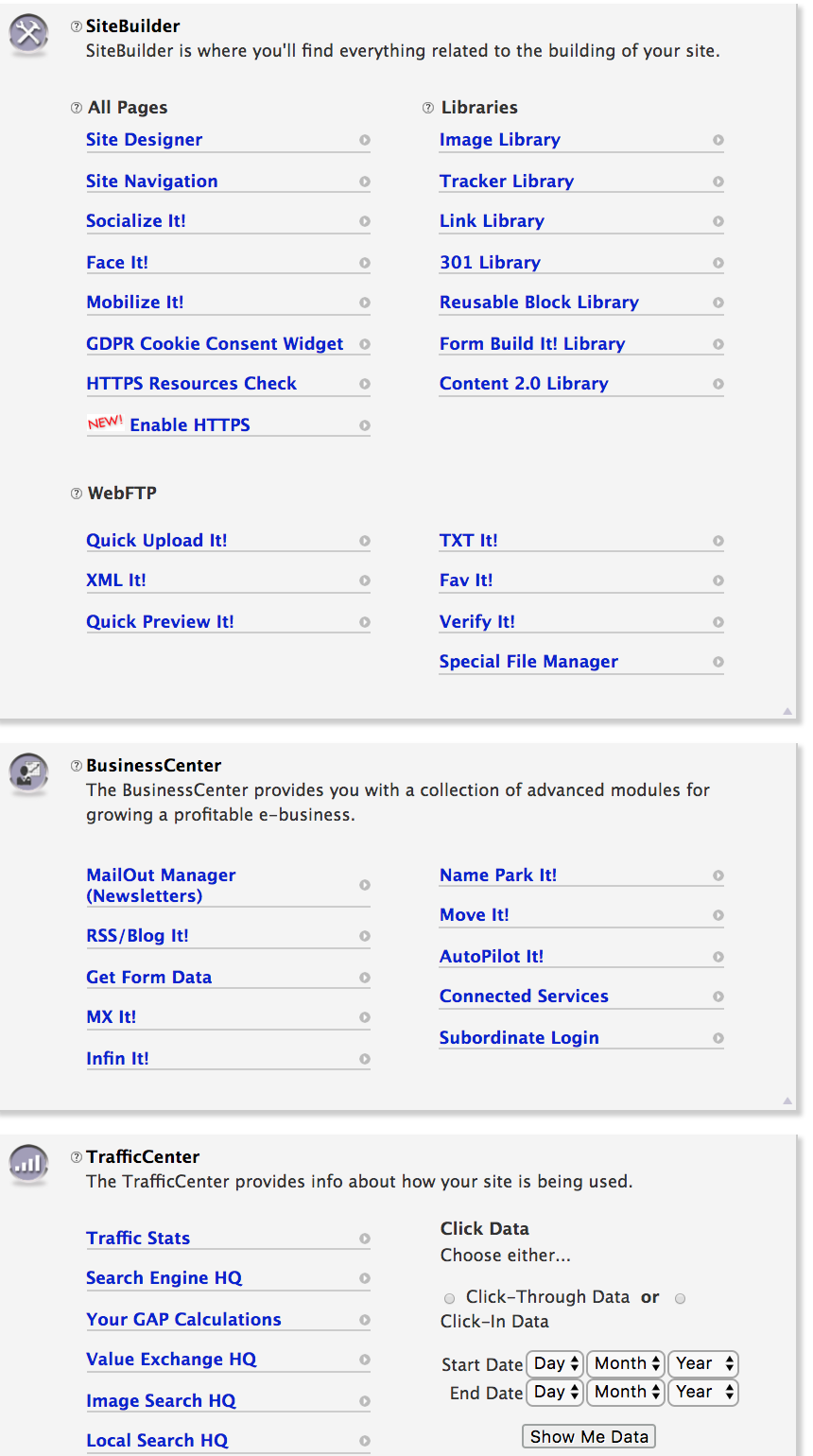 SBI (Solo Build It) web host dashboard: website  option for #FreelanceWriters with Word Wise at Nonprofit Copywriter #ChristianWritingResources