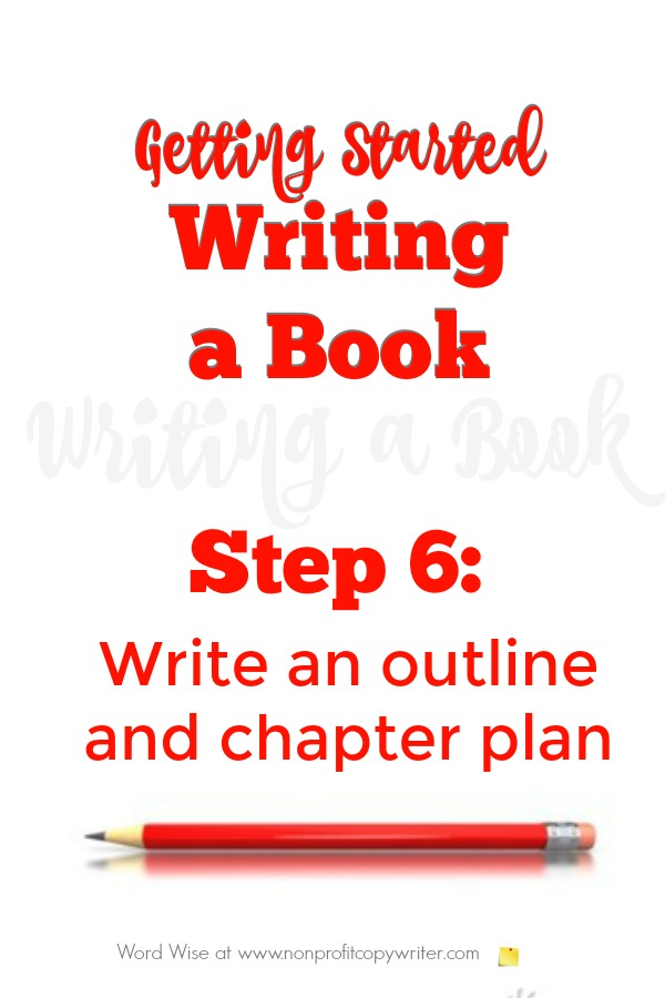 Getting started writing a book, Step 6 with Word Wise at Nonprofit Copywriter